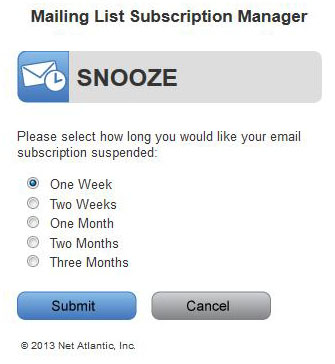 Mailing List Subscription Manager